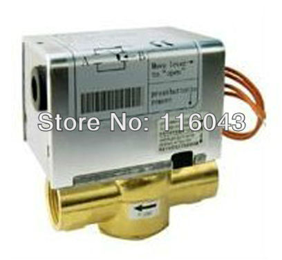 220VAC 1 motorized valve for Cold/hot water system Normal Closed 2 wires 24VAC,110VAC can be choice<br><br>Aliexpress