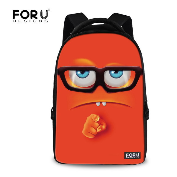 Large Capacity Emoji Backpack Preppy Style Women Mens Laptop Rucksack Emoji Backbag,Smiley School Backpack Children Bookbags<br>