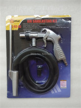 Air Sandblaster Air Sandblasting Gun Kit Spray Gun Kit Pneumatic Tool Free Ship