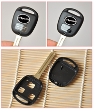 Remote Key Shell Case For Toyota Camry Lexus 3 Buttons With TOY48 Uncut Short Blade Fob Key Cover 10PCS/lot