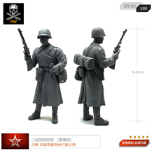 1/35 World War II Soviet Army Army soldiers prime model white mold XN-32(China)