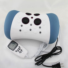 Health monitors! Jmron neck messager electric Therapy Neck pain relief  leisure pillow Cervical Vertebra Therapeutic Instrument