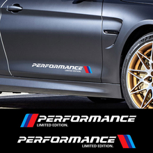 ANTEKE 2PCS M Performance Limited Edition Side Door Reflective Sticker For BMW F10 F20 F30 E90 E46 E36 G30 X3 X5 X6 M3 M4 M5(China)