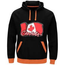Canada Logo Picture Style Hoodies New Stitching Jerseys Customize Canada Team Player Any Name And Number Sweatshirt Pullover