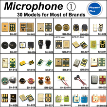 30 Models 60PCS Microphone Mic Inner Receiver Repair Part For Samsung Nokia HTC MOTO Sony Huawei Xiaomi for Lenovo Meizu etc