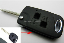Replacement Key Case For Lexus 2 Buttons Modified Flip Remote Key Shell Key Cover HKP Fast Shipping(China)