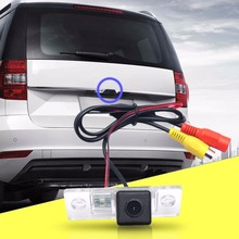 Best Car Reversing Rear Side View Rearview Camera Night vision For VW Touareg/POLO Salon Car/Old Model Bora/ Tiguan Waterproof(China)