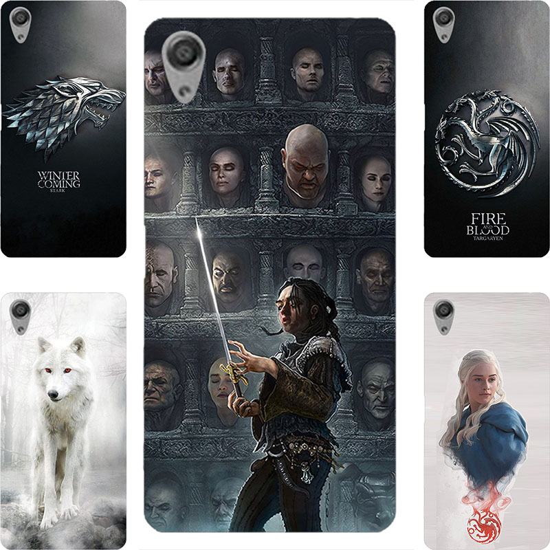 GOT Game Throne Stark Painting Case Sony Xperia E5 M5 Z3 Z4 Z5 X XZ XZs XA L1 XA1 XZ1 1 Ultra Compact Plus Printed Cover