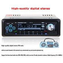 Новый 12 В Стерео Fm-радио MP3 Аудио Плеер Поддержка Bluetooth Телефон с USB/SD/MMC, Порт Автомобильная Электроника В-dash 1 DIN