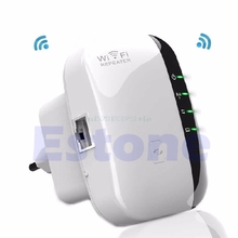 300Mbps Wireless-N AP Range 802.11 Wifi Repeater Signal Extender Booster EU Plug #L059# new hot