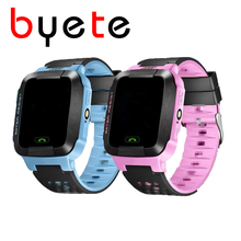 byete Q30 touch screen GPRS LBS Tracker Watch For Kids SOS GSM Mobile Phone For Android Emergency Smart Bracelet Wristband Alarm