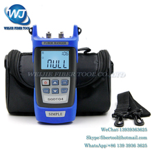 Handheld OTDR 60KM Fiber find fault tester 1310 1550nm SGOT04 breakpoint detector VFL FC/SC Connector - Weijie Communication Store store