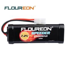 7.2V 3500mAh SC*6 Cells FLOUREON Rechargeable Ni-MH Battery Pack Tamiya Plug for RC Control Toys RC Cars Battery