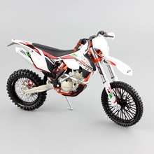 1:12 scale KTM 350 EXC-F Six 6 Days ISDE Italy enduro offroad sport Motorcycle Diecast metal model dirt Motocross motor car toys(China)