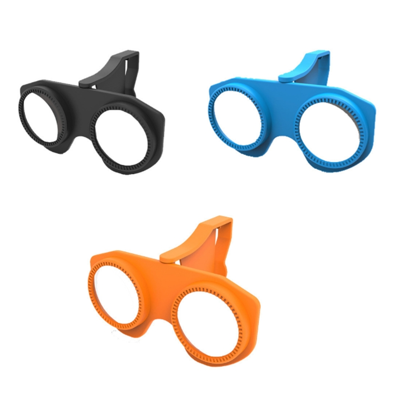 Foldable 3D Virtual Reality Glasses For Smart Phones With 3.5 to 6.0 Inch Eyewear