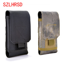 Buy SZLHRSD LG X4 HomTom HT70 Oukitel U19 Bag Outdoor MOLLE Army Camouflage Bag Hook Loop Belt Pouch Holster Cover Case for $6.74 in AliExpress store