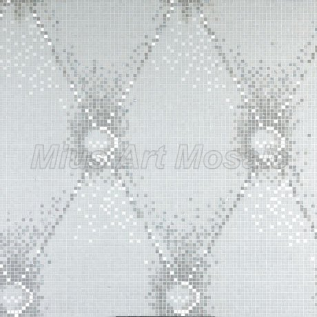 Italy Bisazza style  glass mosaic mural wall decoration KL010<br>