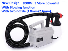 800w Electric Spray Gun Paint Spray Gun 800ml DIY electric spray gun HVLP sprayer Control Spray Power Paint Sprayers(China)
