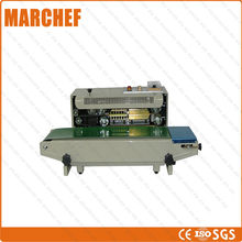 CE ISO High Quality Stainless Frame food packer aluminum plastic bag chocolate bag sealing machine(China)