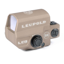 Tactical LEUPOLD LCO Red Dot Sight 1 MOA Dot Rifle Scope Marked Version Dark Earth