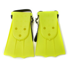 Stylish Soft Adjustable Flippers Fins For Toddlers Learn Swimming kid Children in Swimming Pool Beach For Summer Holiday(China)