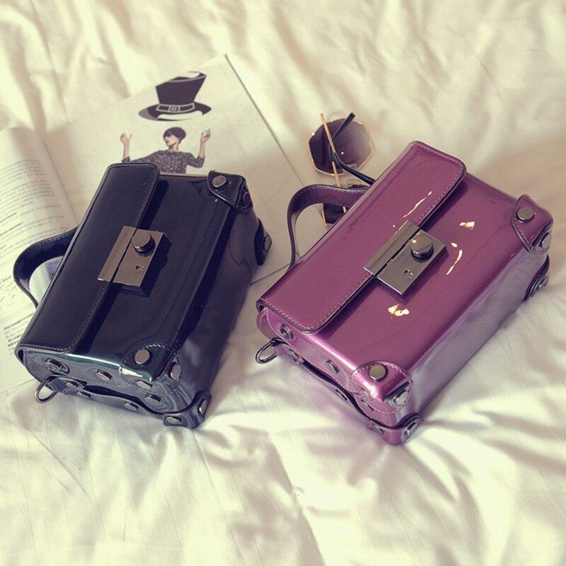 2017 Recommend good quality fashion pu leather ladies handbag pvc jelly mini crossbody shoulder bag messenger bag flap purse<br><br>Aliexpress