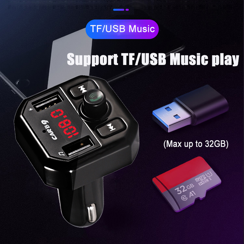 E4891 B9 Bluetooth Car FM modulator (3)