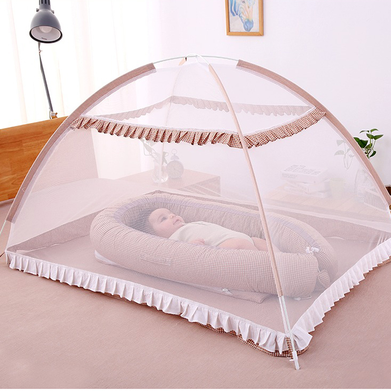 Baby Bed Canopy without Bottom Portable Folding Baby Bed Mosquito Net Children Mosquito Tent 65*115cm Kids Outdoor Camping Tent<br>