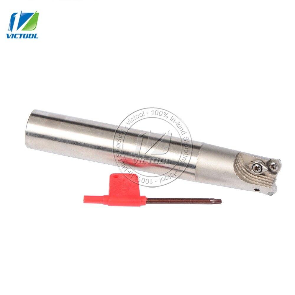 Milling tool holder TRSC25-5R25-160-2T  Indexable face mill shoulder cutter for milling machine for insert  RDMT10T3MOTN<br>