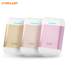 Genuine Teclast T100CA Mobile Power Bank 10000mAh Battery Charger External Battery Pack with Dual USB Outputs(China)
