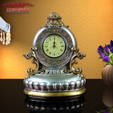 2016 Rushed Retro Clock Ornament Carved Ornaments New Resin Crafts Accessories Home Furnishing(China)