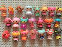 Free shipping 30pcs/lot, MINI Lalaloopsy mini doll ornaments bulk pendant  girls gift 3cm height girls gifts