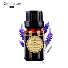 Dimollaure Lavender essential oil for fragrance lamp humidifier aromatherapy help sleep acne treament Spa massage oil skin care(China)