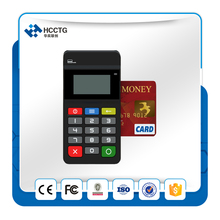 MPOS Mobile payment terminal Magnetic Card Reader NFC&IC chip card reader with keypad - HTY711