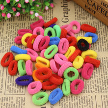 (KAKU23) 2015 New Fashion Child Baby Smal Hair Ring Rubber Bands Hair Holders Elastics Girl's Tie Gum Mix Color Free Shipping