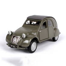 1/32 Scale 1952 Citroen 2CV classic car Model Diecast Car Collections Displays Gifts with Box