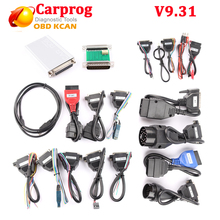 New Carprog V9.31 Full Set ECU Chip Tuning for Car Radios Odometers Dashboards Immobilizer Auto Repair Airbag Reset carprog 9.31
