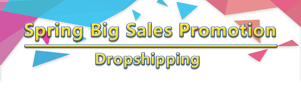 Spring big Sales Promotion for Aliexpress