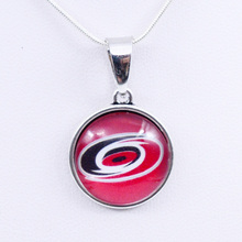 Necklaces Pendants NHL Carolina Hurricanes Charms Ice Hockey Team Women Necklace for Girls Gifts Party Birthday Fashion 2018(China)