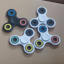 Fidget Spinner Tri-Spinner Plastic EDC Hand Spinner For Autism and ADHD Rotation Time Long Anti Stress Toys Steel ball bear