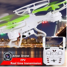 YD-212 RC Drone wiht HD Camera FPV 4 channel RC helicopter model quadrocopter quad copter aircraft girft toys(China)