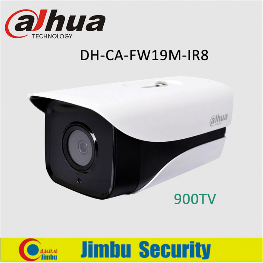 Dahua 900TVL Analog Bullet CCTV Camera DH-CA-FW19M-IR8 1/3 HDIS IR 80m Waterproof IP66 Outdoor Security Camera<br>