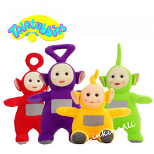 High quality 20-25cm Teletubbies Plush Toy Stuffed Doll 4 Colors Cartoon Stuffed Doll Christmas Birthday Gift