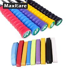 Maxkare Anti-slip Breathable Sport Over Grip Sweatband Tennis Tape Badminton Racket Grips Sweatband(China)