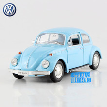 Free Shipping/1:36 Scale/Germany 1967 Volkswagen Beetle/Classical Educational Model/Pull back toy car/For gift/New