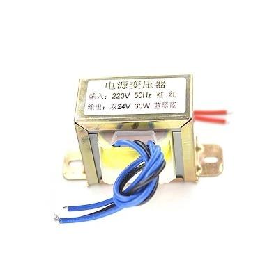 High quality double 30W 24V transformer 220 v output double 24V supply<br>