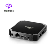 10pcs X96 mini Android 7.1 Smart TV BOX 2GB 16GB Amlogic S905W Quad Core 4K Media Player WiFi 2.4GHz IPTV Set-top box X96mini(China)