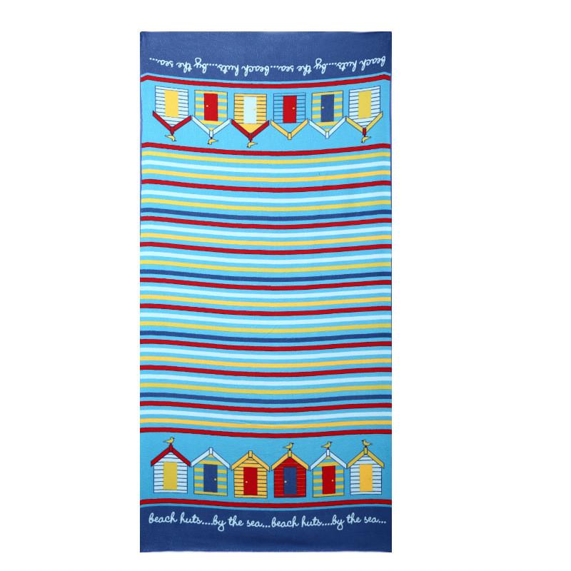 Micro Fiber Printed Beach Towel 140*70cm 21