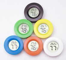 free by DHL FEDEX UPS Mini LCD Digital Thermometer Hygrometer Temperature Humidity Meter colorful