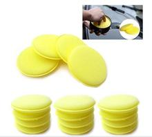 12Pcs Yellow Waxing Buffing Foam Sponge Applicator Pads For Clean Car Home High quality Polish Soft